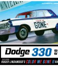 AMT987-12 Color Me Gone 1964 Dodge 330 Super Stock packaging -o