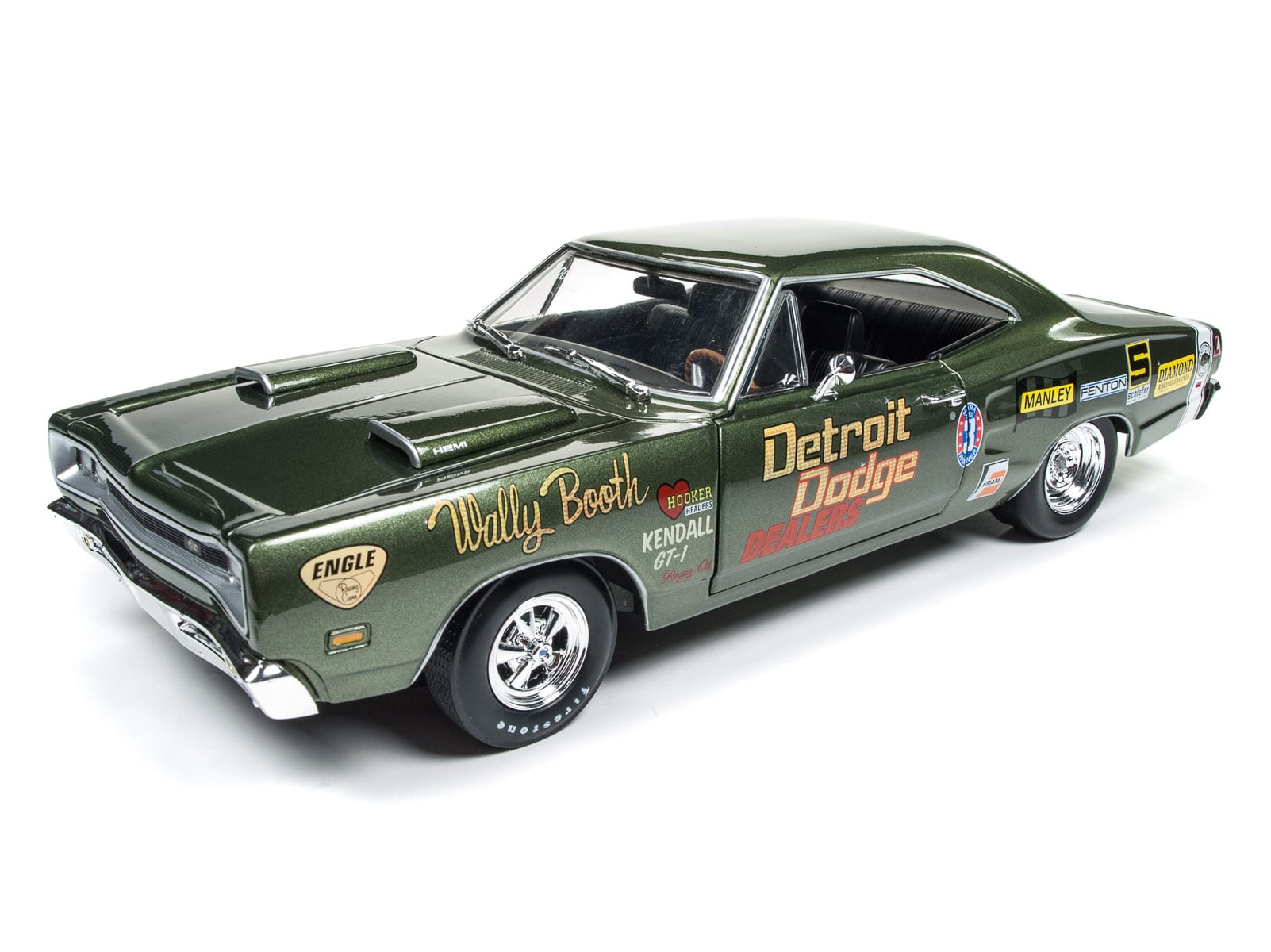1969 Dodge Super Bee Wally Booth Round2