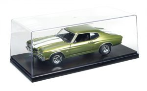 Auto World Plastic Display Case 1:18 Scale