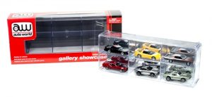 Auto World Six Car Interlocking Display Case 1:64 Scale