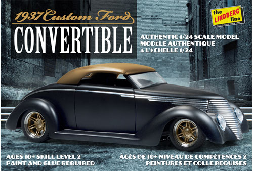 HL129-12 1938 Custom Ford Convertible box