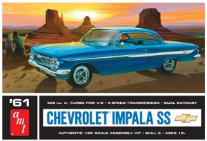AMT 1961 Chevy Impala SS 1:25 Scale Model Kit