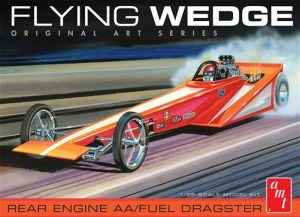 AMT Flying Wedge Dragster - Original Art Series 1:25 Scale Model Kit
