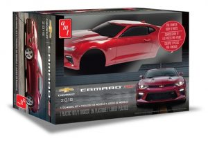 AMT 2016 Chevy Camaro SS (Pre-painted) 1:25 Scale Model Kit