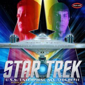 Polar Lights Star Trek U.S.S. Enterprise Refit 1:350 Scale Model Kit