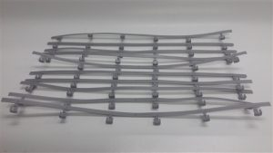 Auto World Track Guard Rails (10 pieces) HO Scale