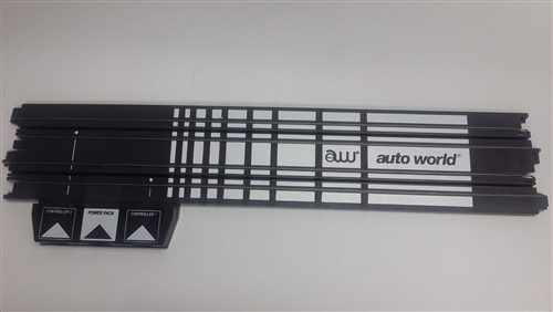 "Auto World 15"" straight terminal track HO Scale"