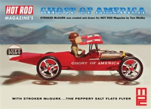 """MPC Stroker McGurk Ghost of America """"Flying Car"""" 1:18 Scale Model Kit"""