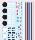 MKA023 AMT racing decals