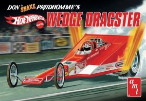 """AMT Coca Cola Don """"Snake"""" Prudhomme Wedge Dragster (Hot Wheels) 1:25 Scale Model Kit"""