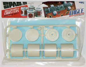 Space: 1999 Nuclear Waste Canister Parts Pack