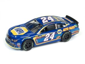 Auto World Super III R2 NASCAR Chase Elliott 2017 Chevy SS HO Scale Slot Car