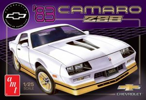 AMT 1983 Chevy Camaro Z-28 (50th Anniversary) 1:25 Scale Model Kit