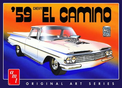AMT 1959 Chevy El Camino (Original Art Series) 1:25 Scale Model Kit