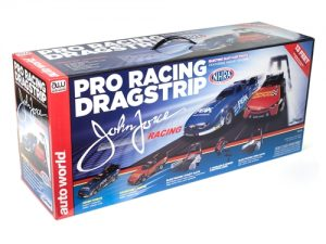 Auto World 13' NHRA John and Courtney Force HO Scale Dragstrip Set