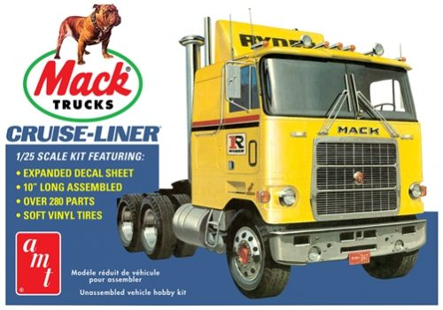 AMT Mack Cruise-Liner Semi Tractor 1:25 Scale Model Kit