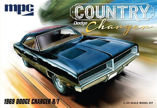 """MPC 1969 Dodge """"Country Charger"""" R/T 1:25 Scale Model Kit"""