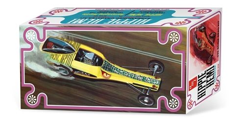 AMT Hippie Hemi Dragster Kat's Kollection - (Auto World Exclusive) 1:25 Scale Model Kit