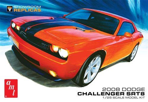 AMT 2008 Dodge Challenger SRT8 1:25 Scale Model Kit