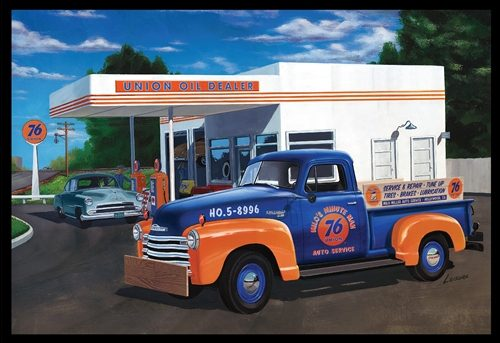 AMT 1950 Chevy Pickup (Union 76) 1:25 Scale Model Kit