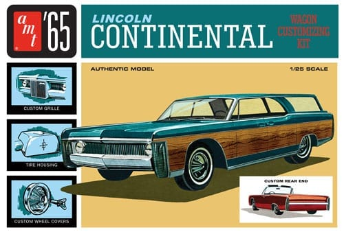 AMT1081-12 1965 Lincoln Continental lid -o