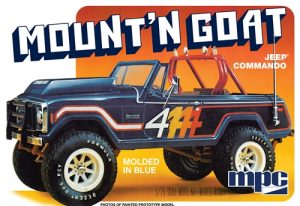 "MPC Jeep Commando ""Mount' N Goat"" 1:25 Scale Model Kit"