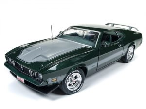 American Muscle 1973 Ford Mustang Mach 1 (Hot Rod Magazine 2017 Power Tour) 1:18 Scale Diecast