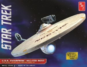 AMT Star Trek USS Enterprise NCC-1701 Refit 1:537 Scale Model Kit