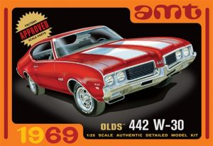AMT 1969 Olds 442 W-30 1:25 Scale Model Kit