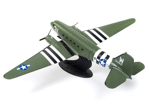 """Vintage Fuel """"That's All Brother"""" Douglas C-47 Skytrain 1:72 Scale Diecast"""