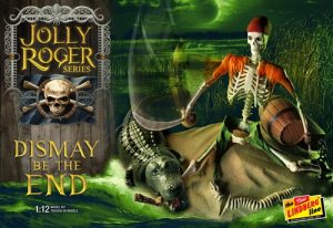 Lindberg Jolly Roger Series: Dismay Be The End 1:12 Scale Model Kit