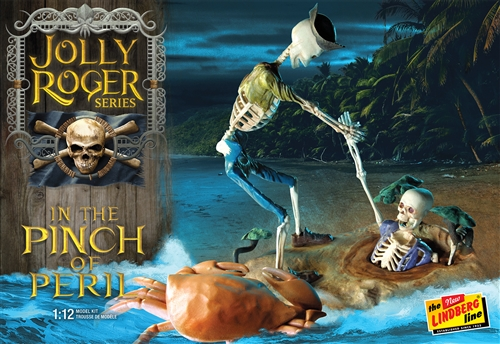 Lindberg Jolly Roger Series: In the Pinch of Peril 1:12 Scale Model Kit
