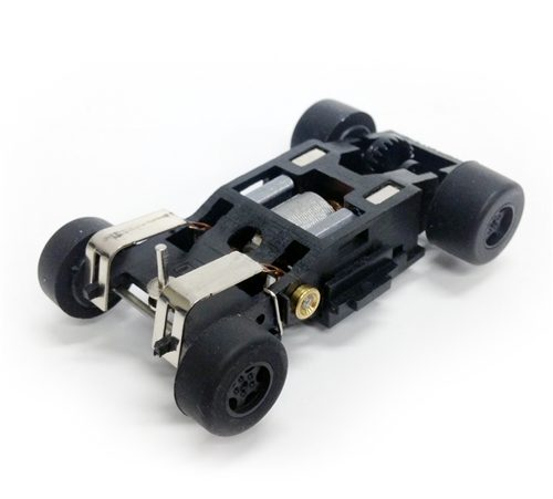 Auto World Super III Complete Chassis HO Scale 1pk