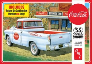 AMT 1955 Chevy Cameo Pickup (Coca-Cola) 1:25 Scale Model Kit