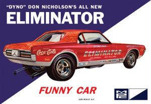 MPC Dyno Don Cougar Eliminator Funny Car 1:25 Scale Model Kit