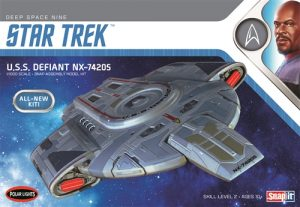 Polar Lights Star Trek U.S.S. Defiant 1:1000 Scale SNAP Model Kit