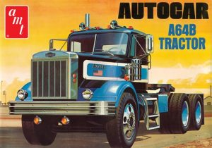 AMT Autocar A64B Semi Tractor 1:25 Scale Model Kit