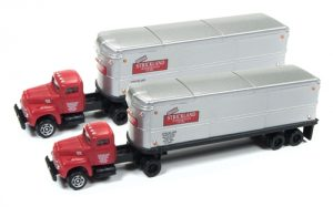 Classic Metal Works IH R190 Tractor & Trailer Set (Strickland) (2 pieces) 1:160 N Scale