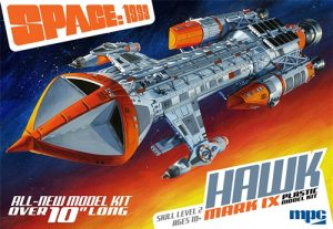 MPC Space: 1999 Hawk Mk IX 1:72 Scale Model Kit