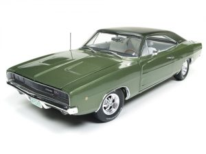 "American Muscle 1968 Dodge Charger R/T ""Class of 68"" (50th Anniversary) 1:18 Scale Diecast"