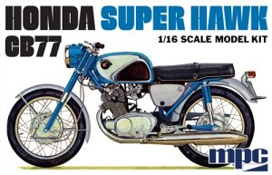 MPC Honda Super Hawk Motorcycle 1:16 Scale Model Kit