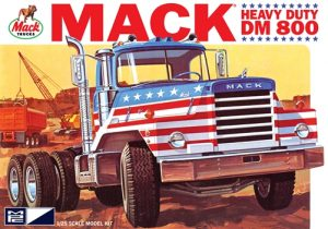 MPC Mack DM800 Semi Tractor 1:25 Scale Model Kit