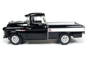 American Muscle 1957 Chevy Cameo Pickup Truck (100th Anniversary) 1:18 Scale Diecast