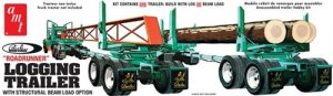 AMT Peerless Logging Trailer 1:25 Scale Model Kit