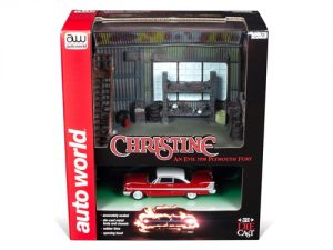 Auto World Darnell's Garage (Includes 1958 Plymouth Fury) 1:64 Scale