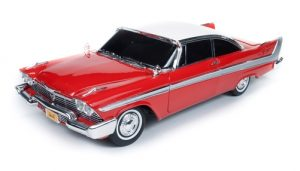 Auto World Christine 1958 Plymouth Fury - Night Version (Christine) 1:18 Diecast