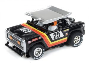 Auto World Xtraction R24 Baja Bronco Black HO Scale Slot Car