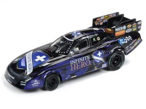 Auto World 4Gear NHRA R21 Jack Beckman Infinite Hero 2018 FC HO Scale Slot Car