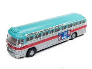 Classic Metal Works GMC PD 4103 Intercity Bus - Eisenhower Campaign 1:87 HO Scale