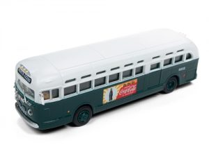 Classic Metal Works GMC TDH 3610 City Bus - City of Chicago, IL (Coca-Cola) 1:87 HO Scale